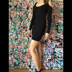 Rachel Pally Cold Shoulder Bodycon Dress